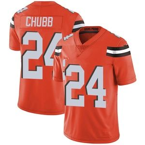 #24 Chubb Orange Stitched Jersey